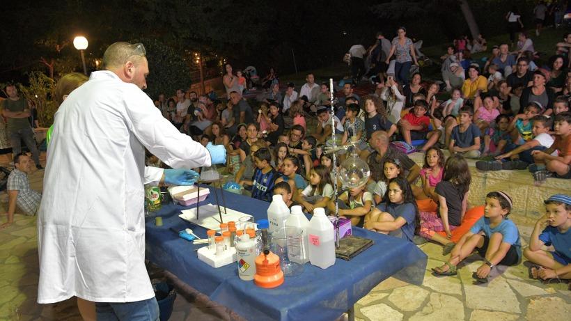 Chemistry magic show